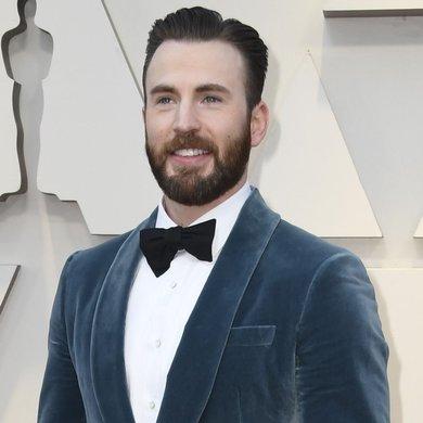 Chris Evans on the Oscars Red Carpet 2019