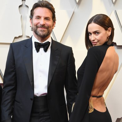 Bradley Cooper and Irina Shayk on the Oscars Red Carpet 2019