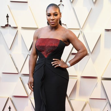 Serena Williams on the Oscars Red Carpet 2019