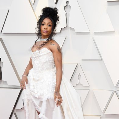 SZA on the Oscars Red Carpet 2019