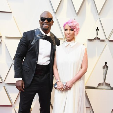Terry Crews and Rebecca King-Crews on the Oscars Red Carpet 2019
