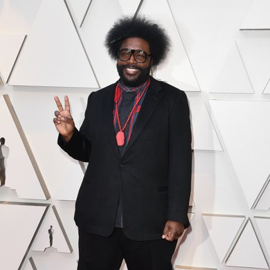 Quest Love on the Oscars Red Carpet 2019