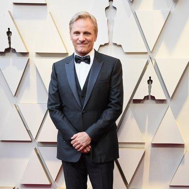 Viggo Mortensen on the Oscar Red Carpet 2019