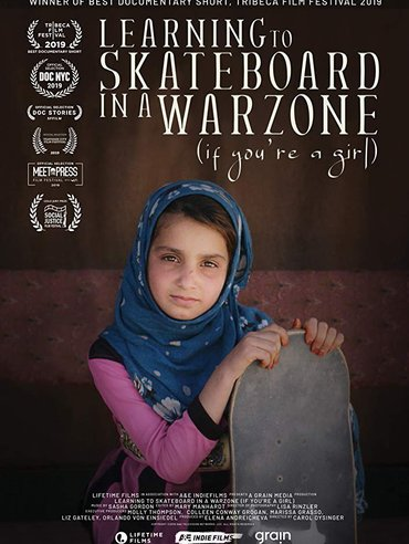 Learning to Skateboard in a Warzone (If You're a Girl) Poster - Oscars 2020
