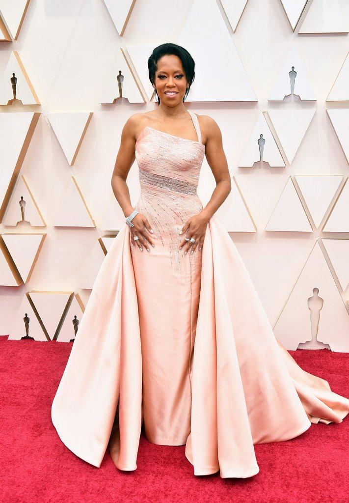 92nd Annual Academy Awards - Regina King: Oscars Red Carpet Arrivals 2020 -  Oscars 2020 Photos | 92nd Academy Awards