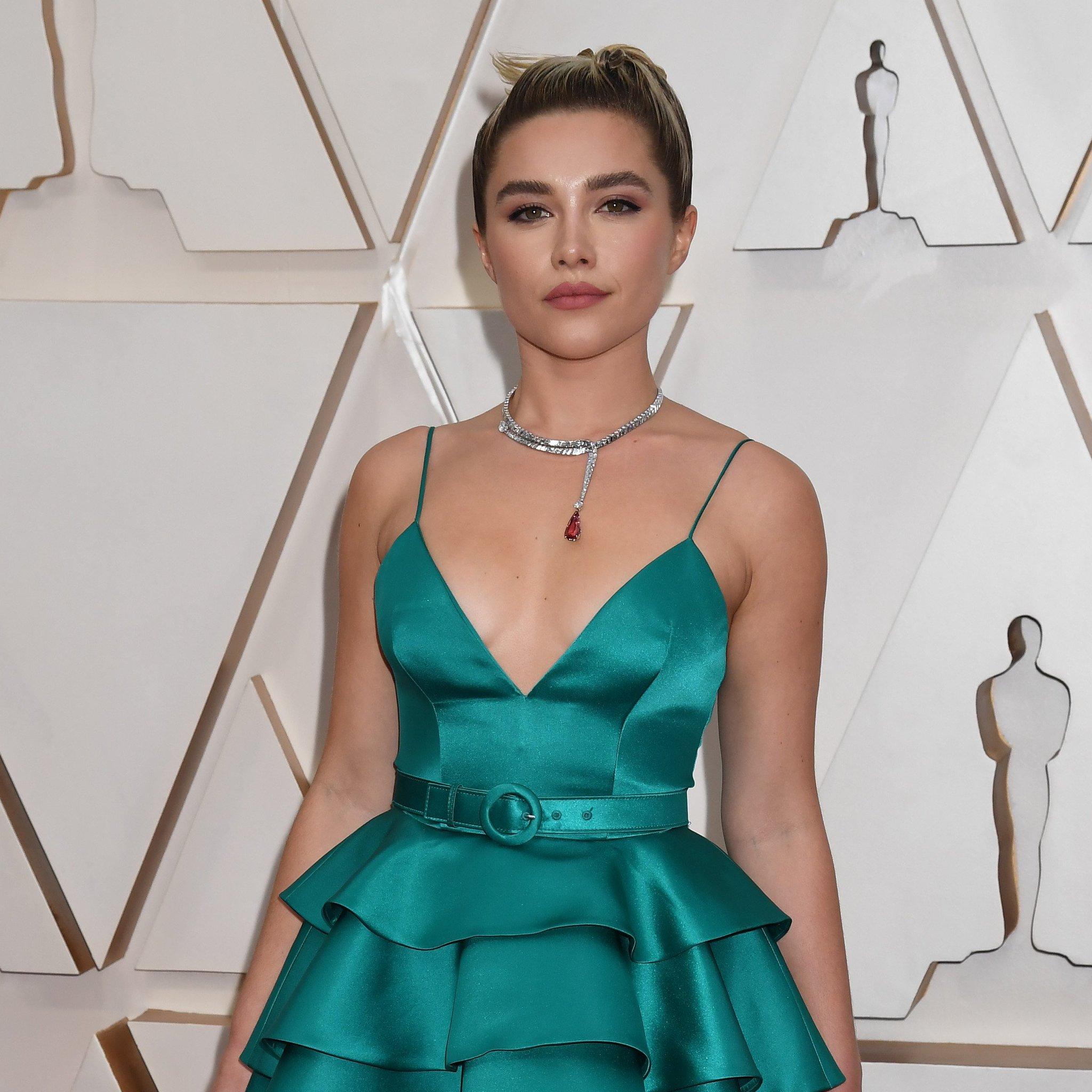 Florence Pugh Oscars 2020 Academy Awards